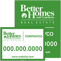 Better Homes And Gardens Real Estate Real Estate Signs, Posts U0026 Frames