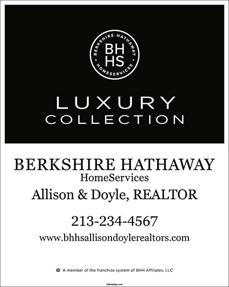 Buy Realtor For Sale Signs Berkshire Hathaway Homeservices