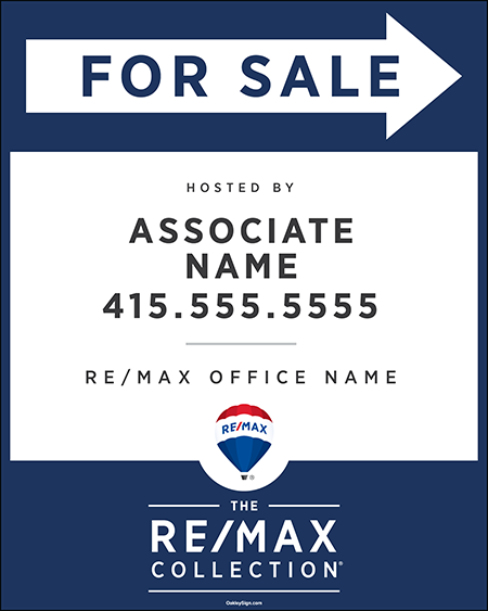 The RE/MAX Collection Directional Signs