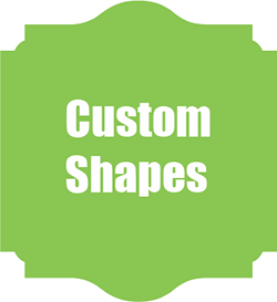Custom Shape Sign Panels