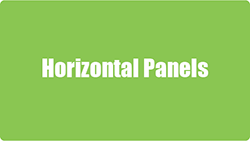 Horizontal Sign Panel Sizes