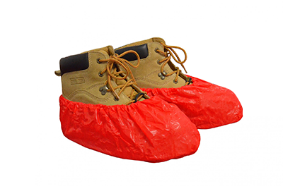 Anti Skid Shoe Covers - Orange