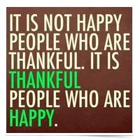 Gratitude quote.