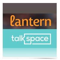 Lantern and Talkspace logos