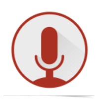 Google dictation icon.