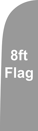 8ft Flag guidelines