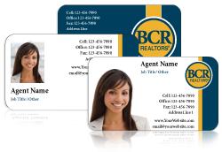 BCR / Business Cards / 20 pt Plastic