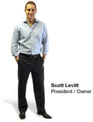 Scott Levitt, president and owner